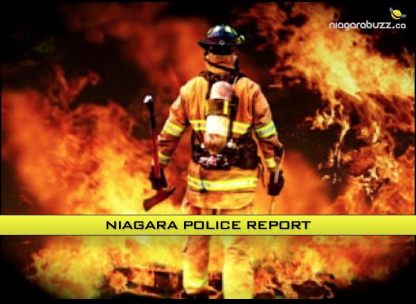 niagara police report fire 2
