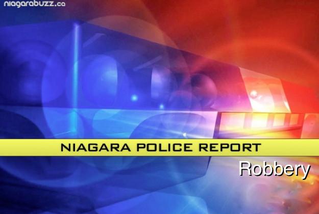 Robbery - Niagara Police Report