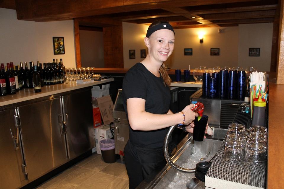bar-maid