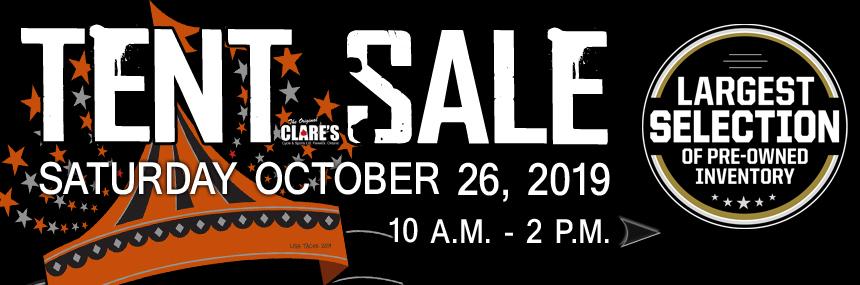 TENT SALE web banner2019