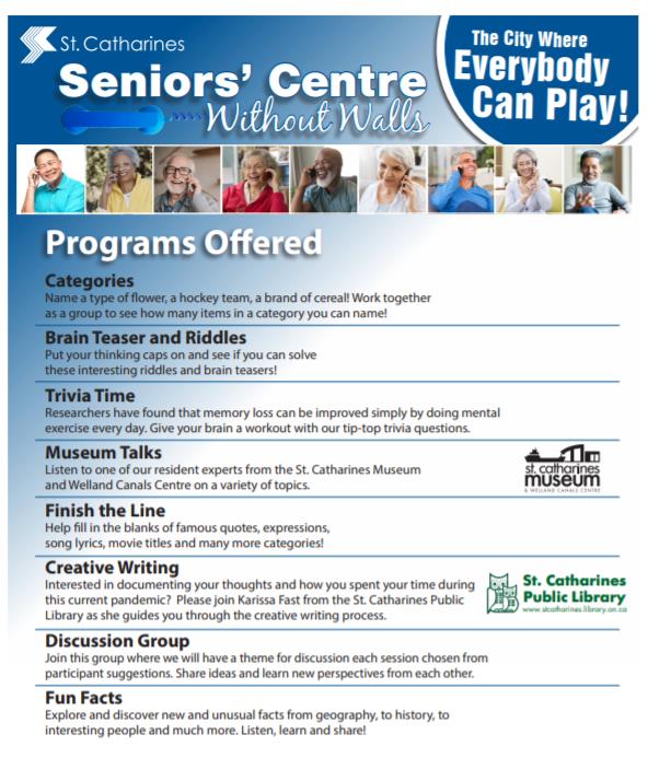 seniors centre