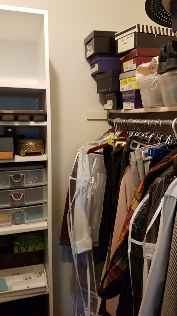 Penny before closet